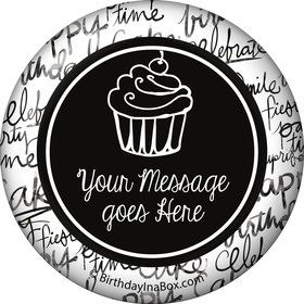 Signature Birthday Personalized Button (Each)