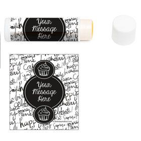 Signature Birthday Personalized Lip Balm (12 Pack)