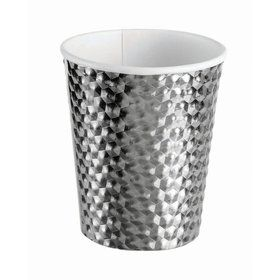 Silver 8oz Paper Cup (8)