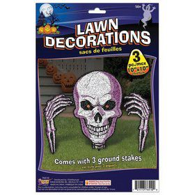 Skeleton Lawn Decoration (3pcs)