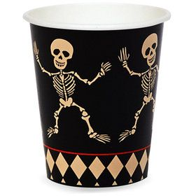 Skull Mansion 9 oz. Paper Cups