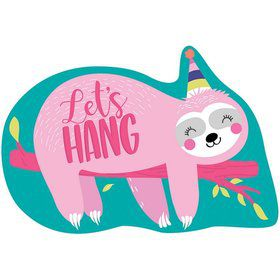 Sloth Celebration Postcard Invitations (8)