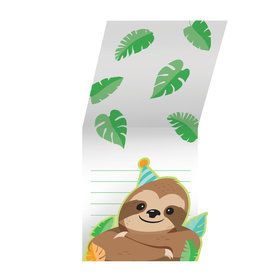 Sloth Folded Invitations (8)