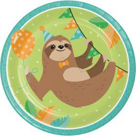 Sloth Lunch Plates (8)