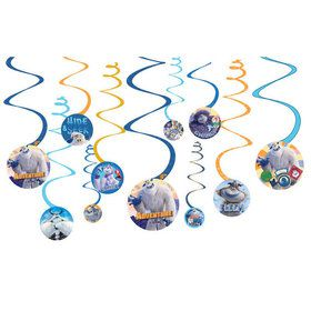 Small Foot Spiral Decorations (12)