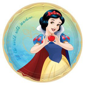 Snow White Lunch Plates (8)