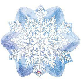 "Snowflake 18"" Balloon (Each)"