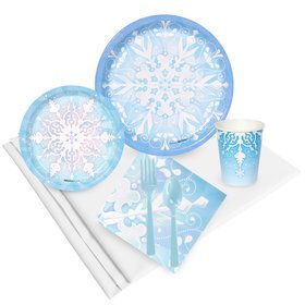 Snowflake Winter Wonderland Party Pack