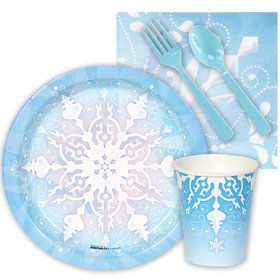 Snowflake Winter Wonderland Snack Party Pack