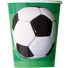 Soccer 9oz Cups (8 Pack)