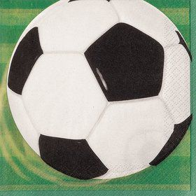 Soccer Luncheon Napkins (16 Pack)