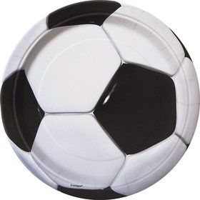 Soccer Luncheon Plates (8 Pack)