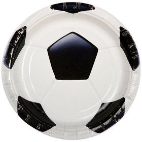 Soccer Party Cake Plates (8-pack)