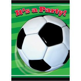 Soccer Party Invitations (8)