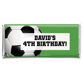 Soccer Party Personalized Candy Bar Wrapper (Each)