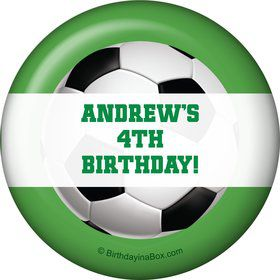 Soccer Party Personalized Magnet (each)