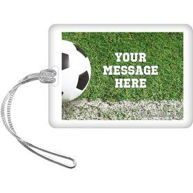 Soccer Personalized Bag Tag (Each)