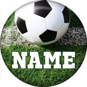 Soccer Personalized Mini Button (Each)