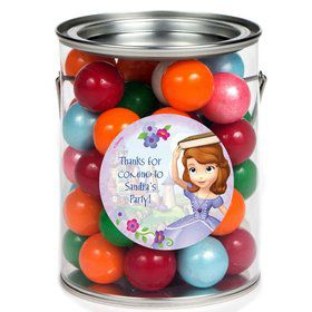 Sofia Personalized Paint Can Favor Container (6 Pack)