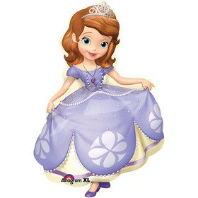 "Sofia the First 35"" Shape Balloon (Each)"
