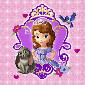 Sofia The First Beverage Napkins (16 Count)