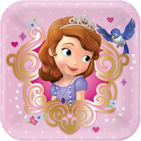Sofia The First Cake Plates (8 Count)
