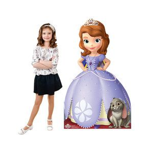 Sofia the First Cardboard Standup Decoration (Each)