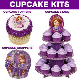 Sofia The First Cupcake Kit