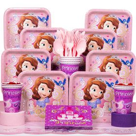 Sofia The First Deluxe Kit (Serves 8)
