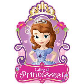 Sofia the First Invitations (8 Pack)