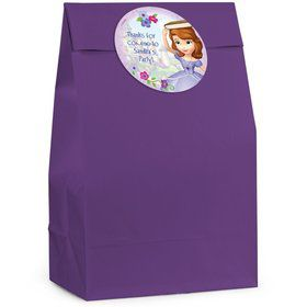Sofia the First Personalized Favor Bags (12 Pack)