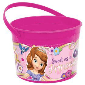Sofia the First Plastic Favor Container (Each)