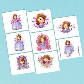 Sofia the First Tattoo Sheet (1)
