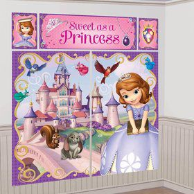 Sofia the First Wall Decorating Kit (Each)