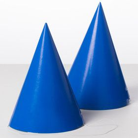 Solid Party Hats (8-pack)
