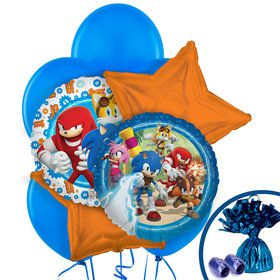 Sonic Boom Balloon Bouquet