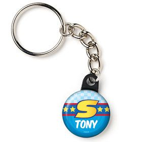 "Sonic Personalized 1"" Mini Key Chain (Each)"