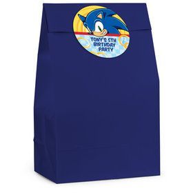 Sonic Personalized Favor Bag (12 Pack)