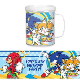 Sonic Personalized Favor Mug (Each)