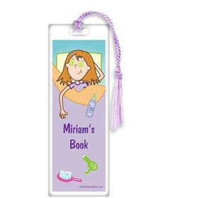 Spa Day Personalized Bookmark (each)
