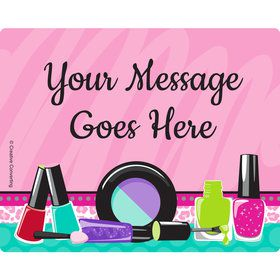 Spa Party Personalized Address Labels (Sheet of 15)
