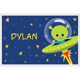 Space Alien Personalized Placemat (each)