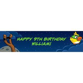 Space Birds Personalized Banner (Each)