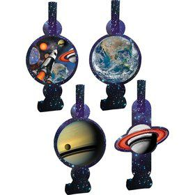 Space Blast Blowouts (8 Pack)