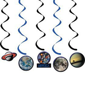 Space Blast Dizzy Danglers w/ Cutouts (Each)