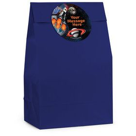 Space Blast Personalized Favor Bag (12 Pack)