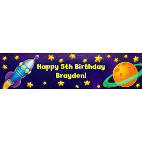 Space Personalized Banner (Each)
