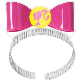 Sparkle Barbie Bow Headbands (8)