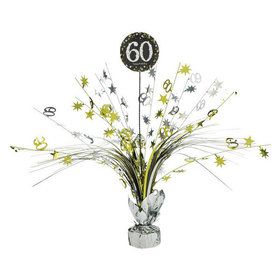 Sparkling Celebration 60th Birthday Spray Centerpiece (1)