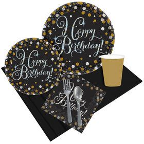Sparkling Celebration Birthday Party Pack for 8